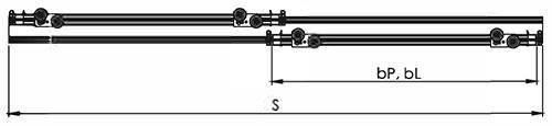 Viršutinis ir apatinis profilis (884, 885), formulė