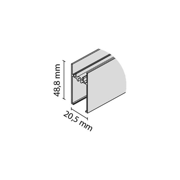 Horizontalus profilis RAMA