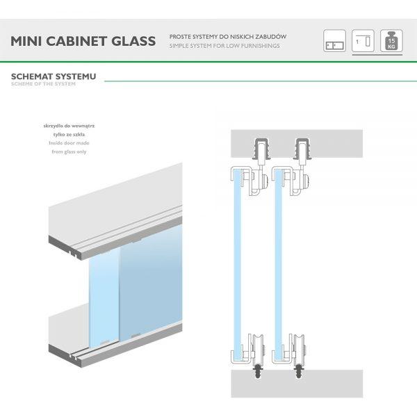 MINI CABINET GLASS
