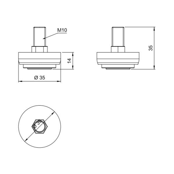 Kojelė M-10