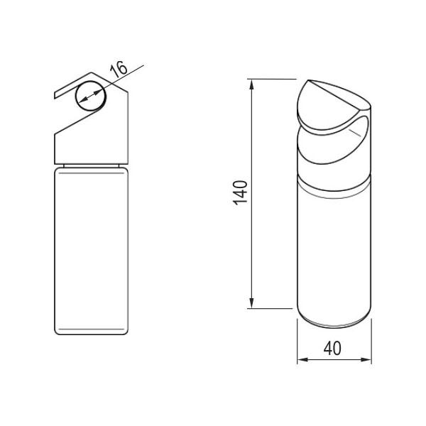 Prieskonių stikliniai indeliai (5 vnt)