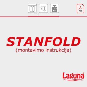 STANFOLD montavimo instrukcija