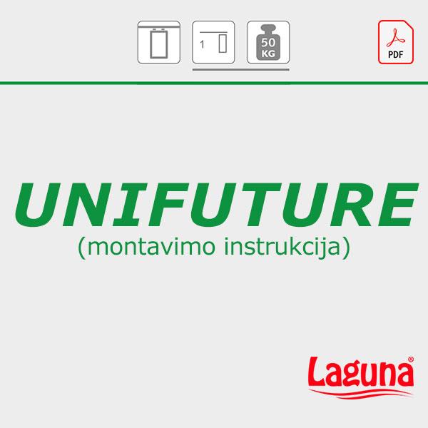 UNIFUTURE montavimo instrukcija