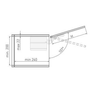 Mechanizmas durelių pakėlimui PD-LIFT